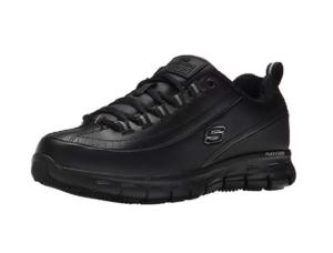 Jogging Shoes For Women Skechers Women's Sure Track Trickel Slip Resistant