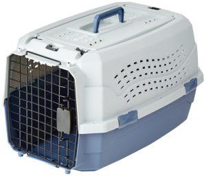 AmazonBasics Accessories Two-Door Top-Load Cat Kennel