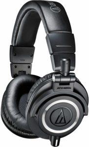 Best DJ Headphones By Audio-Technica ATH-M50x