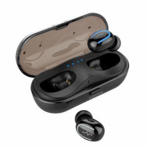 Best Bluetooth headphones under $50 CORNMI True Wireless Bluetooth Headphones