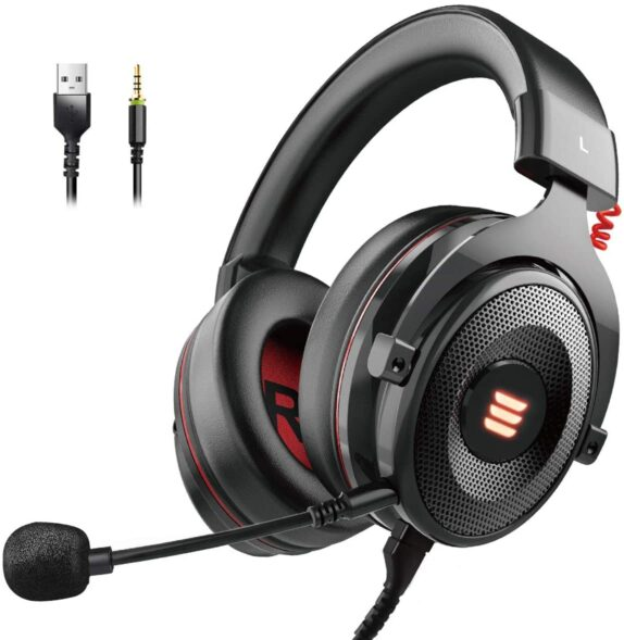 EKSA E900 PRO Gaming Headset Review 7.1 Surround Sound Gaming Headsets