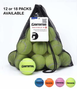 Pressureless Tennis Balls Gamma Bag
