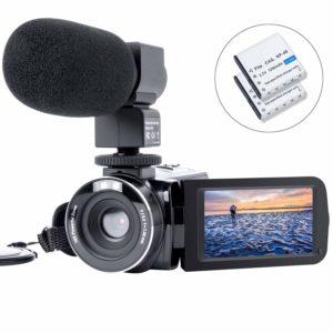HAOHUNT Vlogging Camcorder under 100