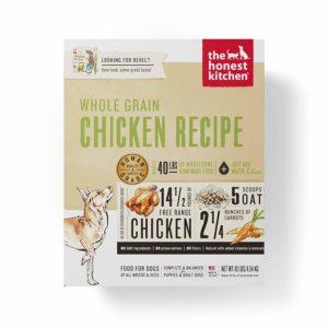 Honest Kitchen Human Grade Dehydrated Best tasting dry dog food Box