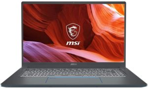MSI Laptop under 700 Modern 14 A10M-460 review