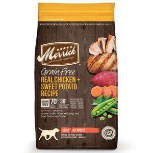 Best dry food Merrick Grain Free