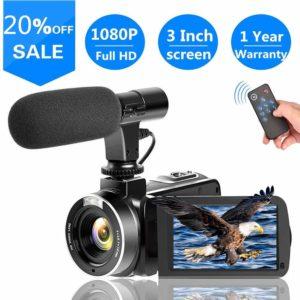 SUNLEA cheap Vlogging Camera under 100