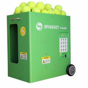 Best Tennis Ball Machine Spinshot-Player with A Compatible Phone Remote Control