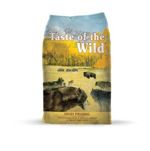 best tasting dry dog food Taste Of The Wild Grain Free High Protein