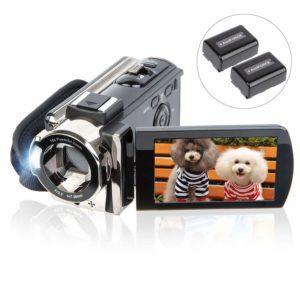 Kictech digital video camera for vlogging under 100