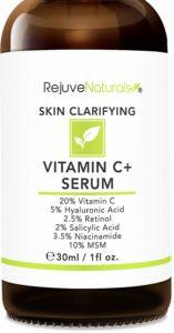 RejuveNaturals Vitamin C Serum For Acne-prone skin