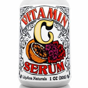 LilyAna Naturals Vitamin C Serum for Face Acne-prone skin and Eyes