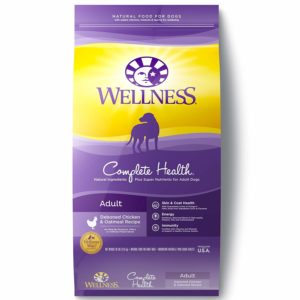 Best tasting dry dog food Wellness Complete Health Natural