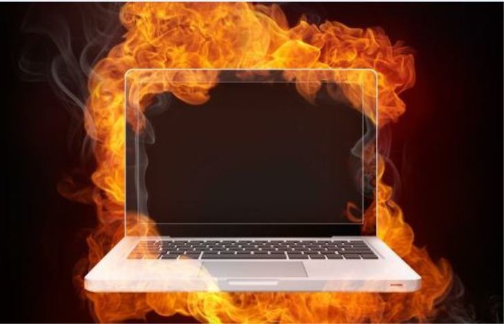 What causes gaming laptops to over heat